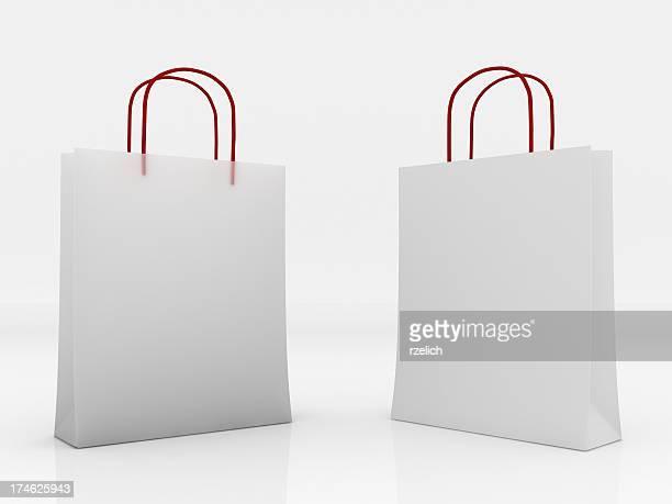 Plastique et sac en papier