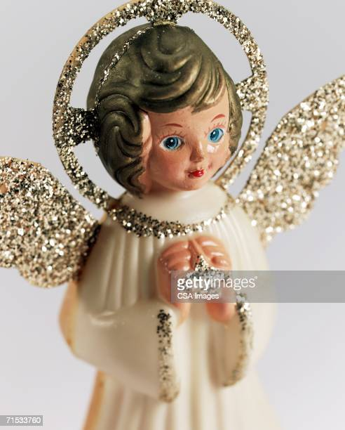 Plastic Angel Figurine