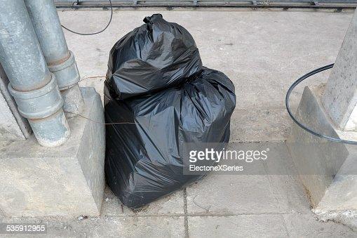 Plastic bag : Stock Photo