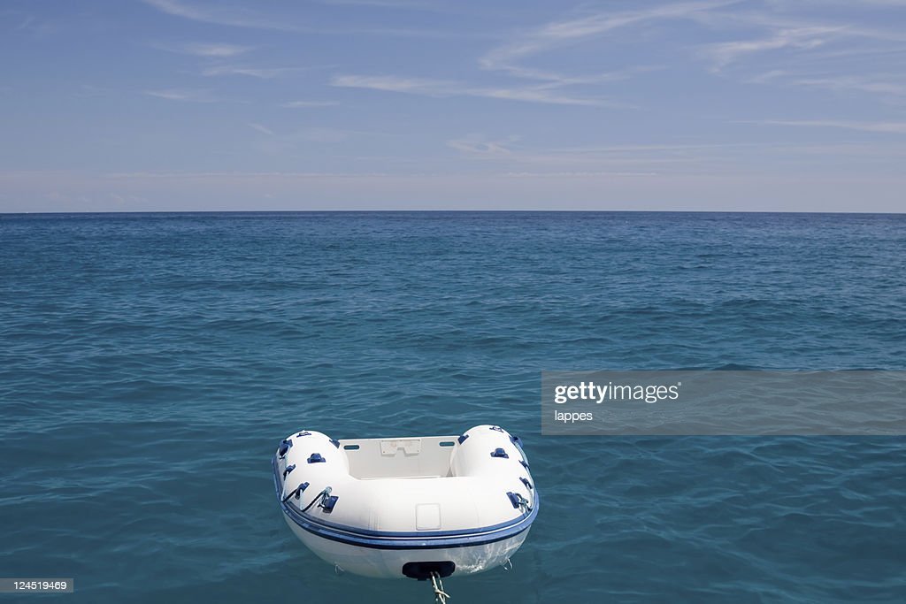 Barca in plastica : Foto stock