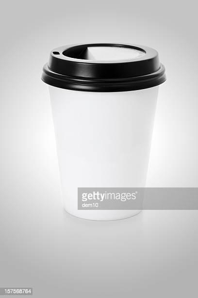 Plastik Kaffee Tasse