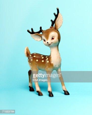 Plastic Deer Decoration