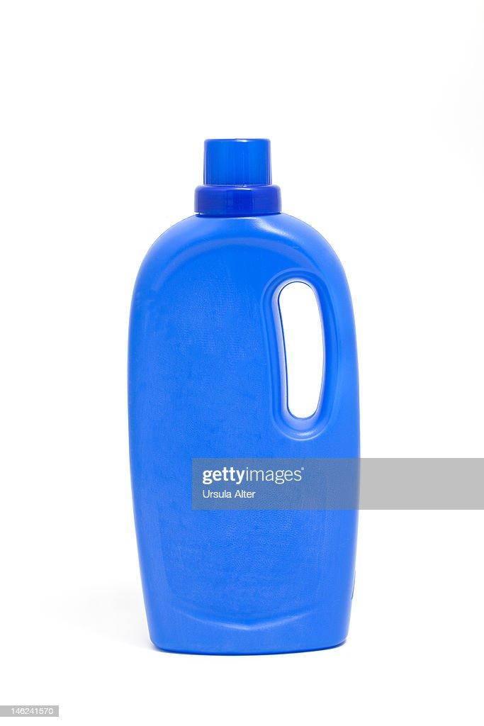 Plastic detergent bottle : Stock Photo