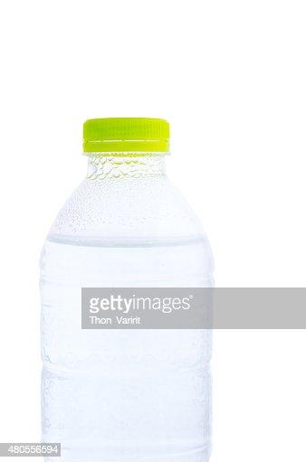 Plastic drinking water bottle : Stock Photo