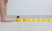 Plastic ducks in a row