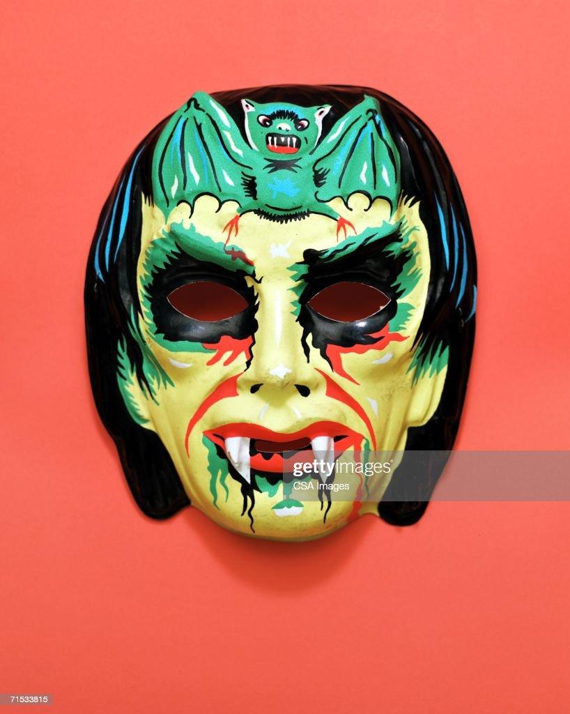 Plastic Halloween Mask