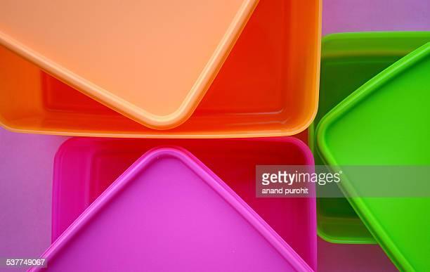 Plastic - kitchen storage containers, homeware