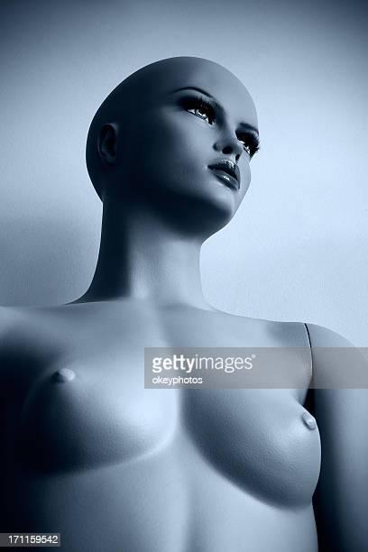 plastic mannequin's portrait