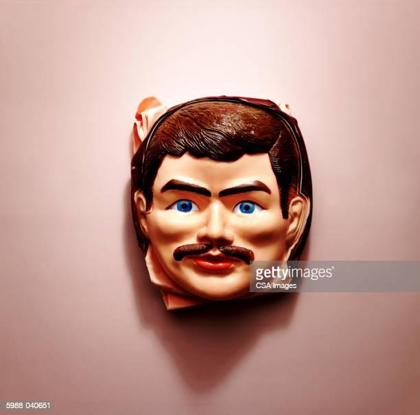 Plastic Man's Face