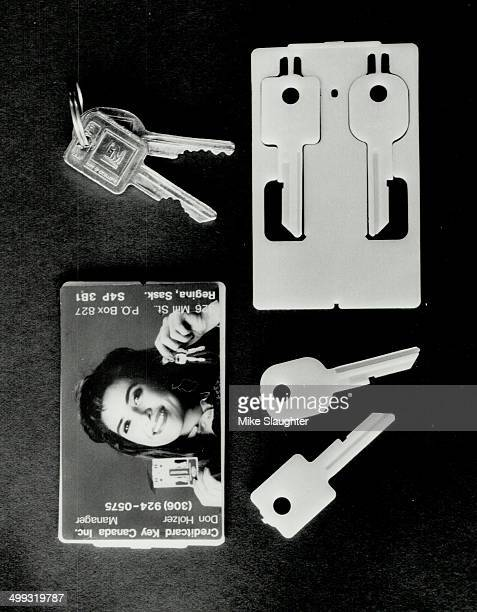 Plastic spares The key blanks attached to a credit cardsized plastic rectangle can be cut on a conventional keycutting machine Creditcard Key Ontario...