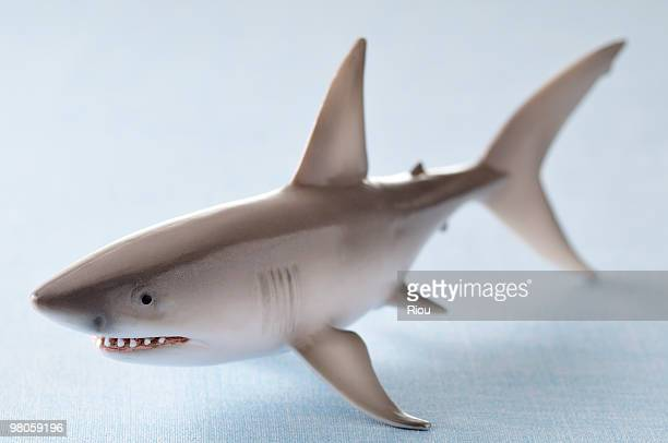 Shark Toys Great White : Toy shark stock photos and pictures getty images