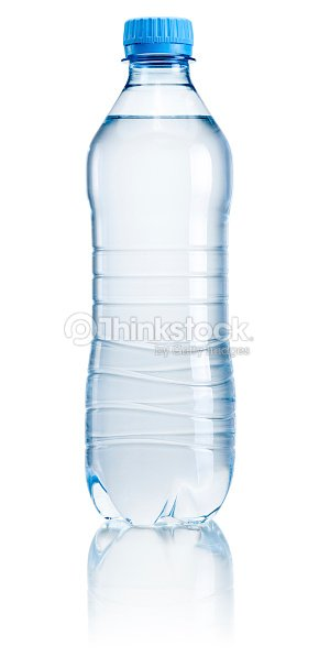 06b7c36998 Plastic Water Bottle With No Label On White Background Stock Photo ...