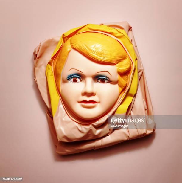 Plastic Woman's Face