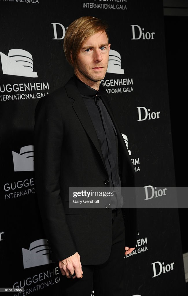 Plastikman attends the Guggenheim International Gala, made possible by Dior, at the Guggenheim Museum on November 7, 2013 in New York City.