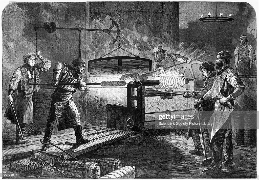 Plate from Illustrated London News William Armstrong was appointed Engineer of Rifled Ordnance in 1859 and set up a factory at Elswick to manufacture...