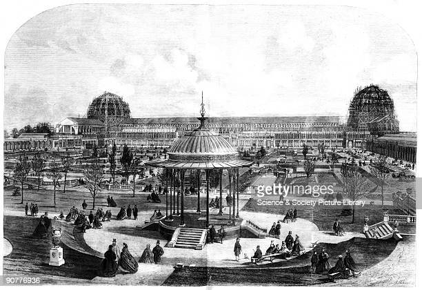 Plate from the Illustrated London News The building made to house the International Exhibition was designed by Captain Frances Fowke and was built by...