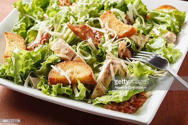 Plate of Caesar Salad