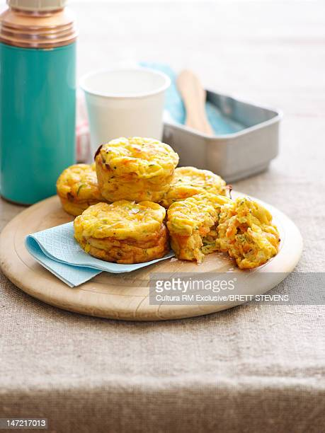Plate of cheese biscuits