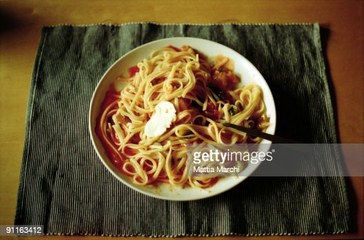 Plate Of Food : Stock Photo