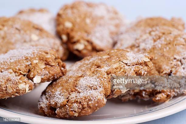 オートミールのクッキー「モラセス」のプレート