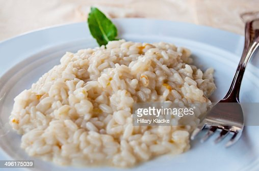 Plate of Risotto