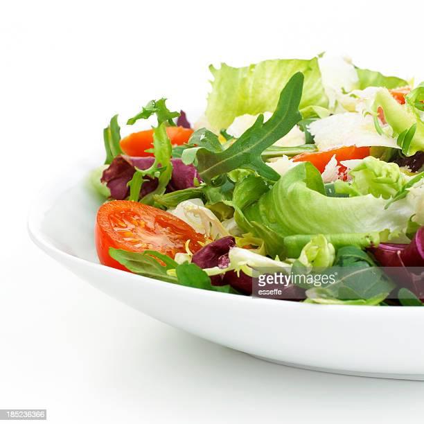 プレートのサラダ