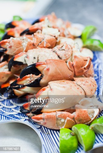 Plate of Stone Crab