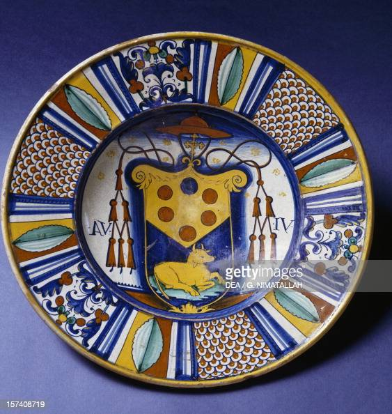 Plate Deruta Manufacture Pictures Getty Images