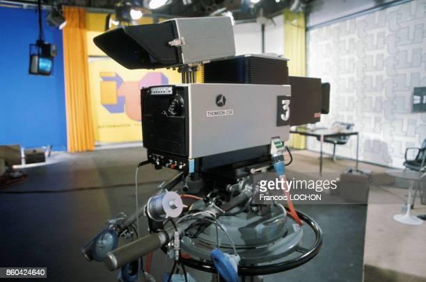 Plateau de télévision TF1 à BoulogneBillancourt France