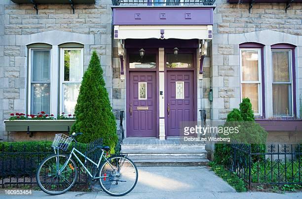 Plateau Mount Royal Purple Doors