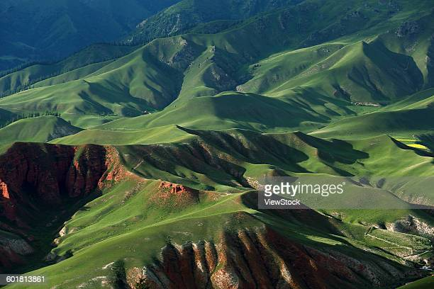 Plateau scenery of Qinghai Province, China