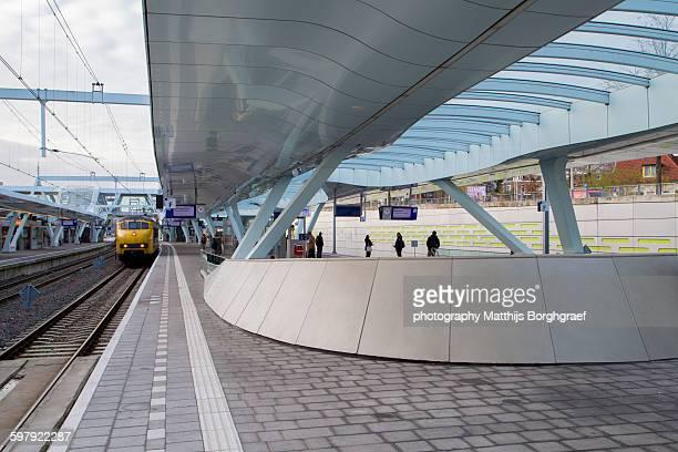 Platform 10 at Arnhem centraal train station