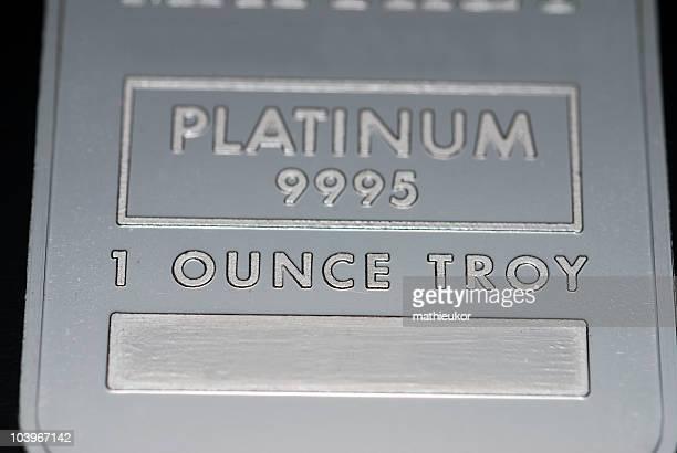 Platinum lingote
