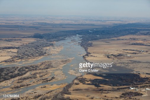Platte river east of grand island nebraska usa stock photo getty