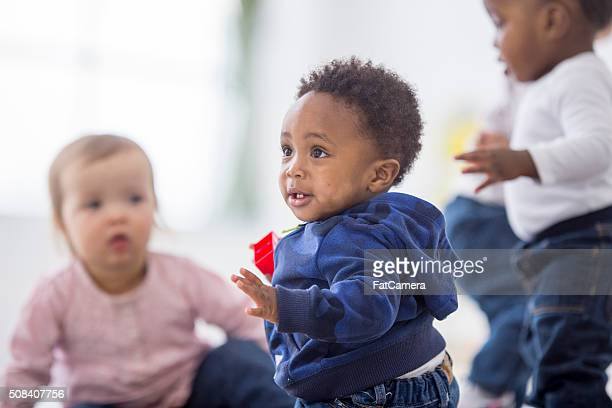 Cita para jugar con los niños pequeños