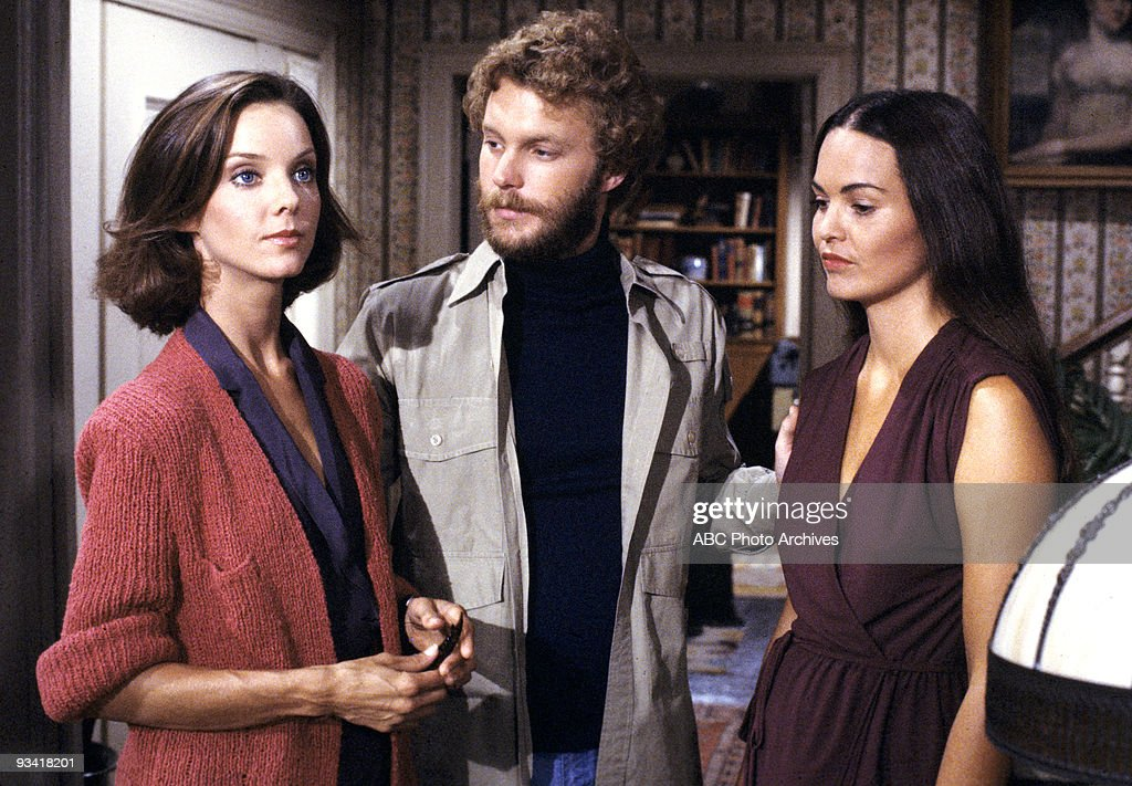 FAMILY - 'Play on Love' - Season Five - 3/10/80, WIllie (Gary Frank) found Jo Hamlin (guest star <a gi-track='captionPersonalityLinkClicked' href=/galleries/search?phrase=Judith+Chapman&family=editorial&specificpeople=665937 ng-click='$event.stopPropagation()'>Judith Chapman</a>, left) more interesting than Rachel (Devon Ericson).,