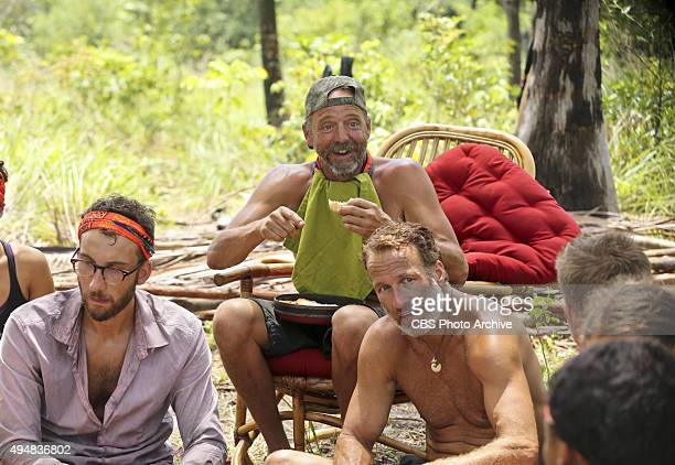 'Play to Win' Stephen Fishbach Keith Nale and Andrew Savage during the seventh episode of SURVIVOR Wednesday Nov 4 The new season in Cambodia themed...