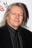 Play translator Christopher Hampton attends the after party for the Broadway opening of 'God of Carnage' at espace on March 22 2009 in New York City