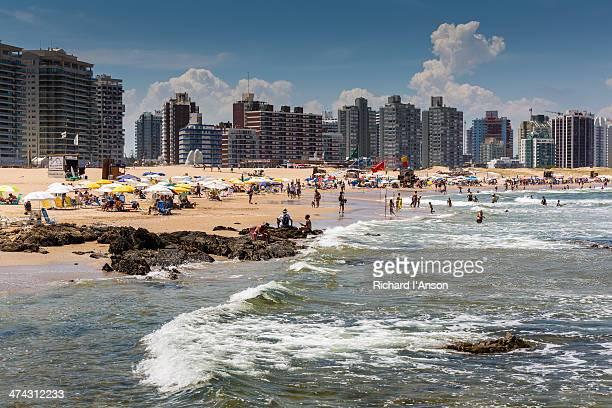 Playa Brava & hi-rise buildings