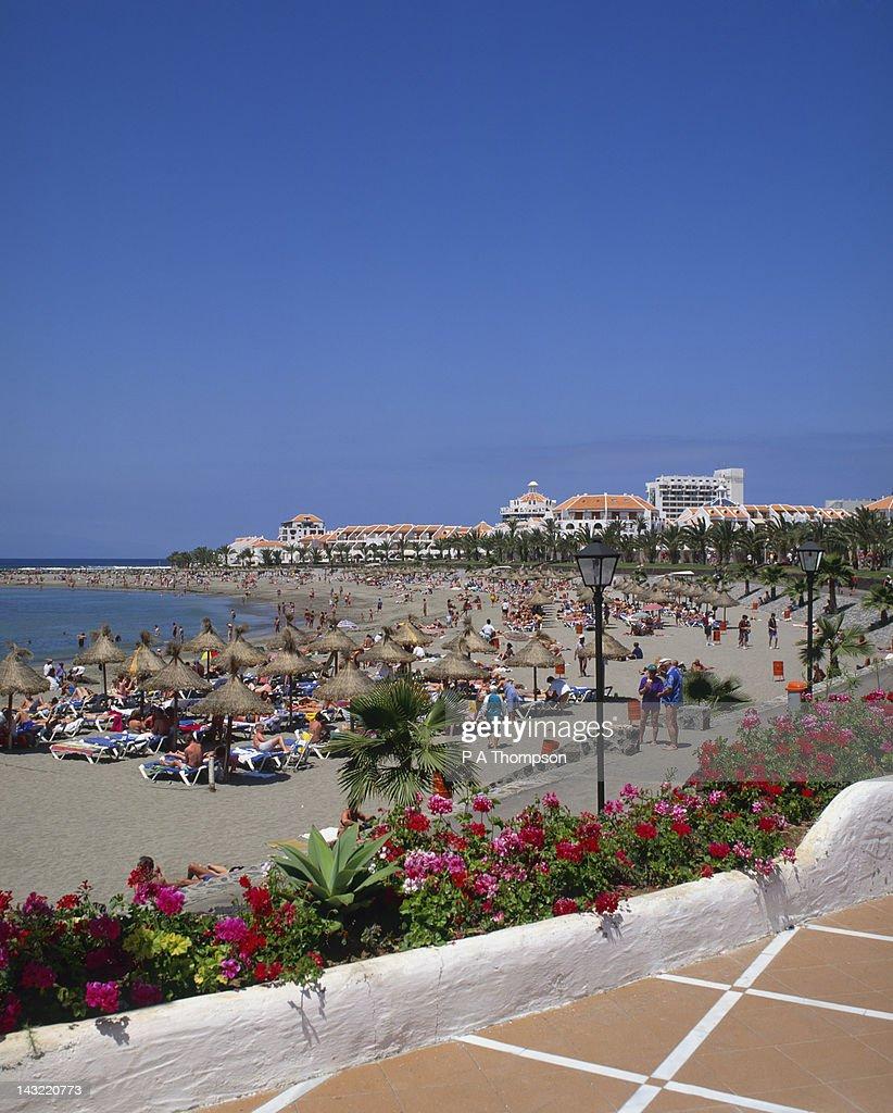 Playa Camison, Playa de Las Americas, Tenerife, Spain