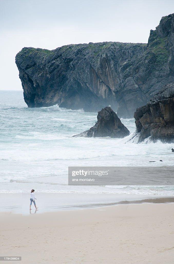 Playa de Andrin : Stock Photo