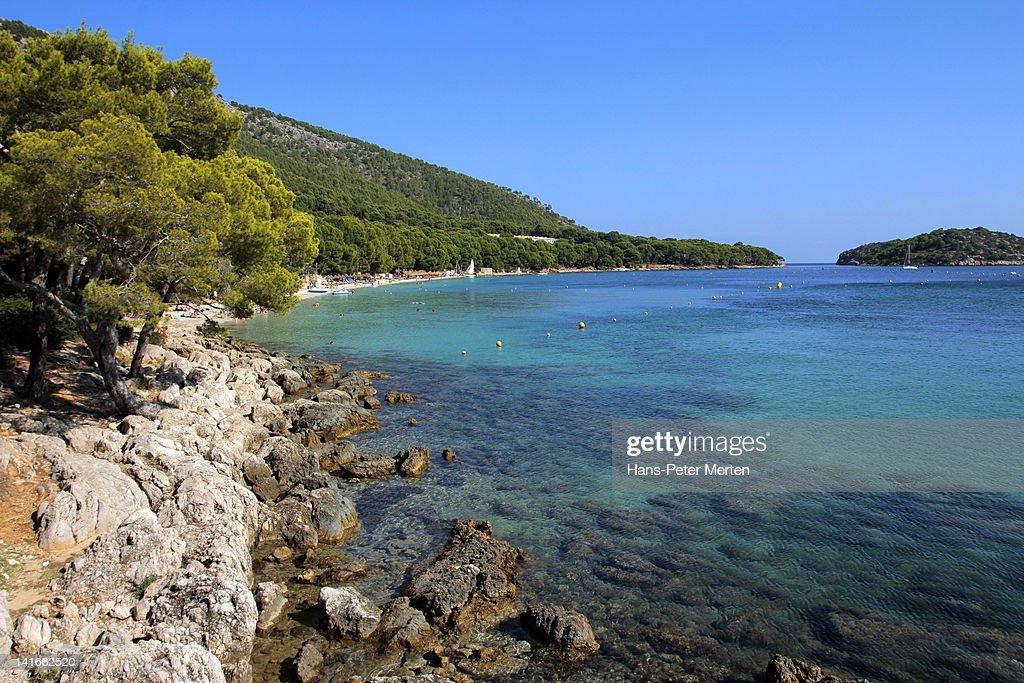 Playa de Formentor, Mallorca : Stock Photo