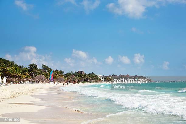 Playa Del Carmen karibischen Strand an der Riviera Maya, Cancun, Mexiko