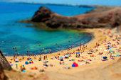 Playa del papagayo. Lanzarote