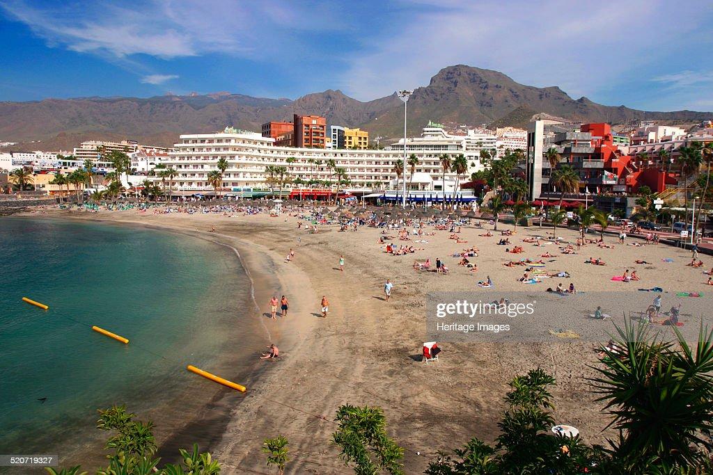 Playa la Pinta beach Playa de las Americas Tenerife Canary Islands 2007