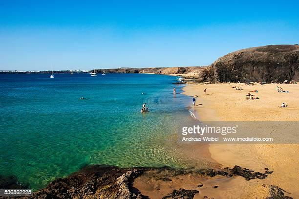 Playas en la Costa de Papagayo - Lanzarote