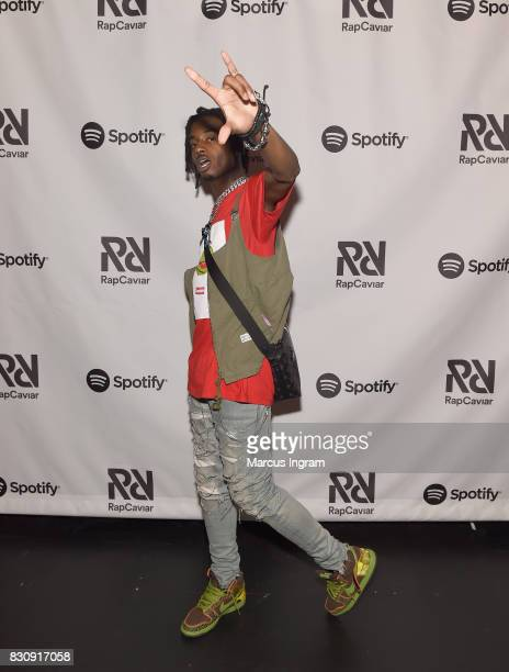 Playboi Carti at Spotify's RapCaviar Live at The Tabernacle on August 12 2017 in Atlanta Georgia