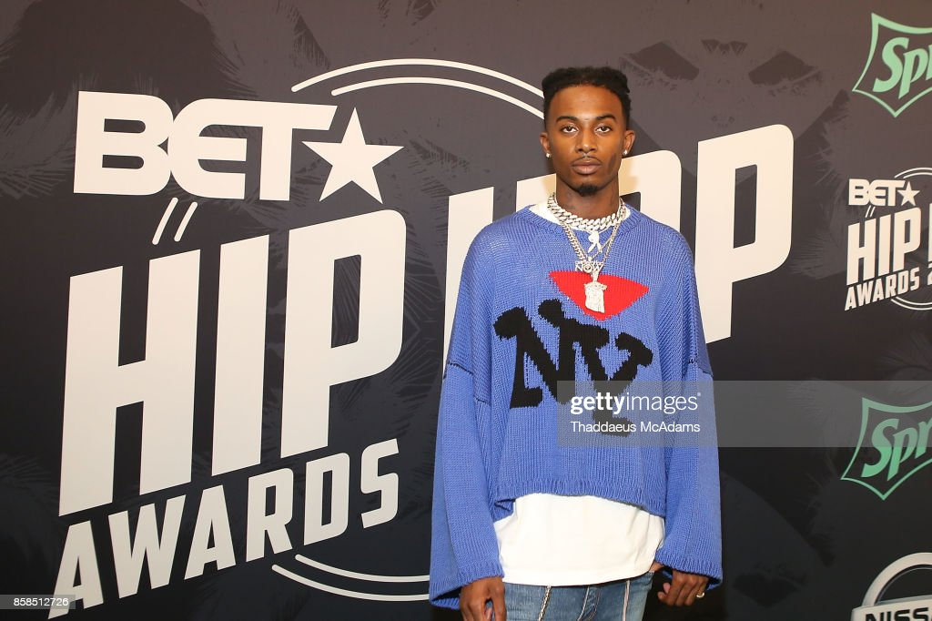 Playboi Carti attends BET Hip Hop Awards 2017 on October 6, 2017 in Miami Beach, Florida.
