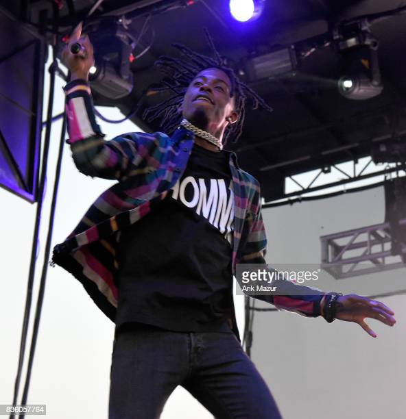 Playboi Carti performs at 2017 Billboard HOT 100 Music Festival at Northwell Health at Jones Beach Theater on August 20 2017 in Wantagh New York