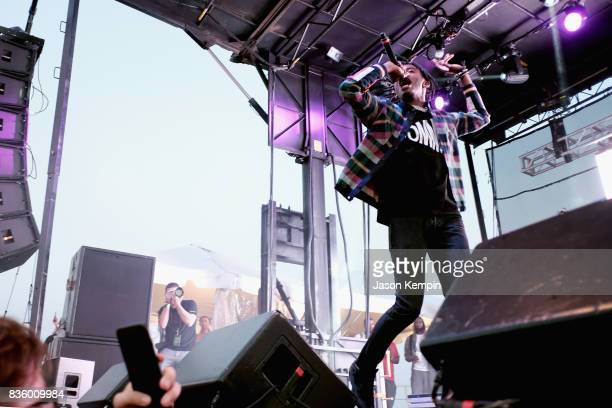 Playboi Carti performs during Day Two of 2017 Billboard Hot 100 Festival at Northwell Health at Jones Beach Theater on August 20 2017 in Wantagh City